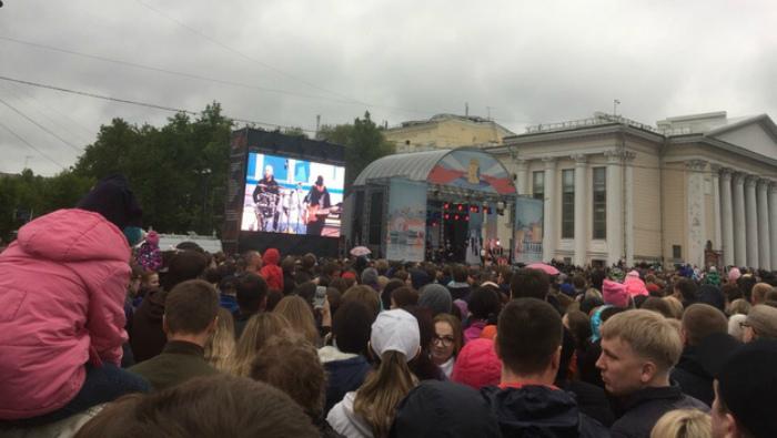 Кировчане остались недовольны качеством звука на концерте «Зверей»