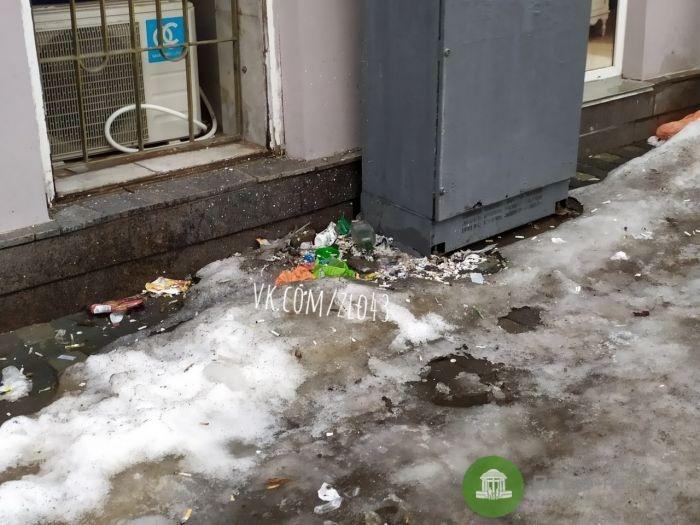 """Это весна"": в Кирове оттаял мусор"