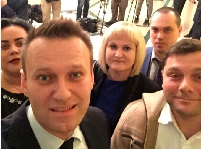 Навальный требует с судьи Блинова 3.4 млн рублей