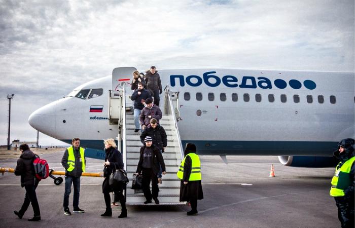 Пассажиропоток аэропорта Победилово в этом году вырос почти на 70%