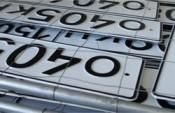 В автомобильные номера собираются встроить электронные чипы