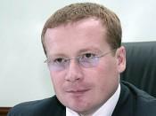 Эдуард Носков покинул пост заместителя губернатора области