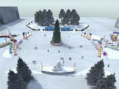 Новогодняя театральная площадь станет местом сражения