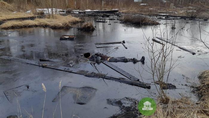 В Яранске пенсионер утонул в мазутном «озере»