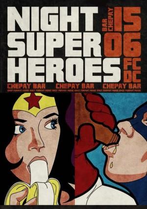 Ночь супер героев