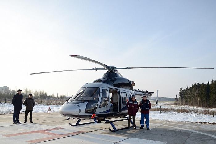 В Кировской области вертолётами санавиации спасены 75 детей