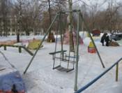 В Октябрьском районе выбрали лучший зимний двор