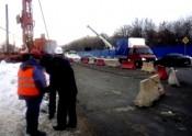 В Кирове начали строить первый надземный пешеходный переход