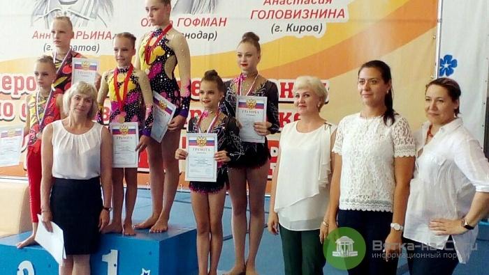 Кировчане стали победителями всероссийского турнира по спортивной акробатике