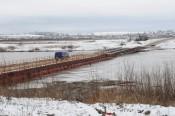 Понтонный мост в Каринторф построен с нарушениями законодательства