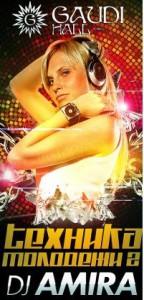16.07.11 > GAUDI HALL > DJ AMIRA (Москва)