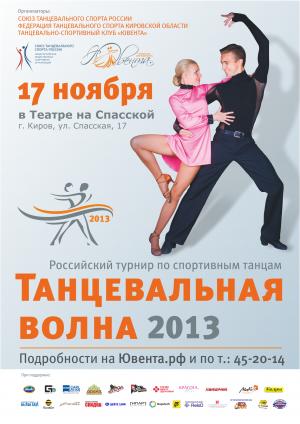 Турнир по спортивным танцам «Танцевальная волна»