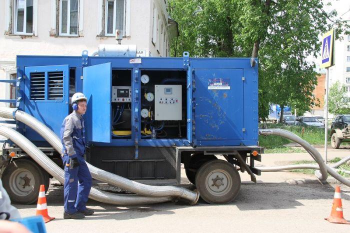 Сроки проведения гидравлических испытаний в Кирове переносятся