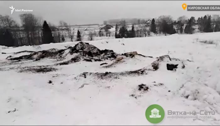 На территории хозяйства, которым управляет депутат Ягдаров, обнаружили свалку с трупами животных