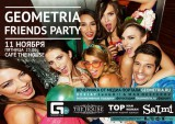 11 НОЯБРЯ – GEOMETRIA FRIENDS PARTY