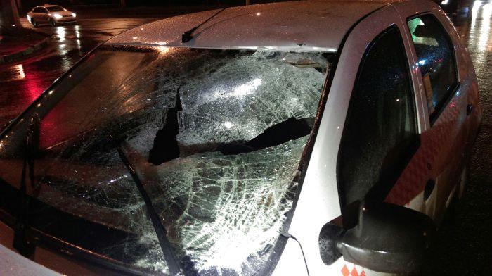 В Кирове таксист на большой скорости сбил двух сотрудников ДПС