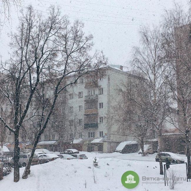 Рабочая неделя для кировчан будет пасмурной и снежной