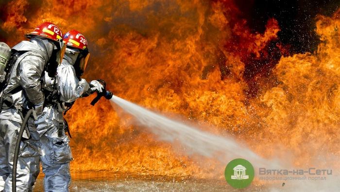 В Кировской области при пожаре погибли два брата