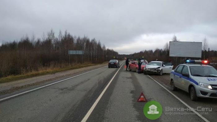 В Кирове в ДТП пострадал ребенок