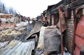 Ущерб от пожара превысил 30 млн рублей