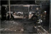 В Слободском загорелся автобус