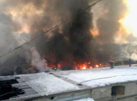 Ущерб от пожара ОАО «Булочно-кондитерский комбинат» составил почти 2 млн рублей