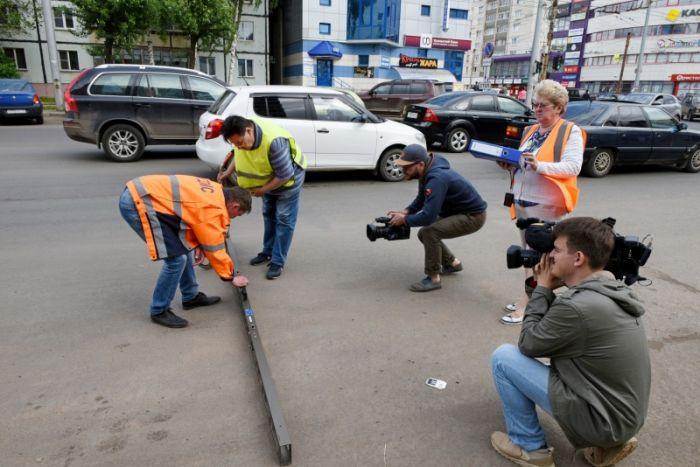 Проспект Строителей сдан на неделю раньше срока