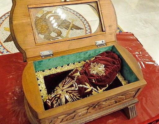 Верующие кировчане смогут поклониться башмачку святителя Спиридона Тримифунтского