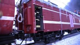 Причиной крушения поезда стало повреждение колесной пары вагона