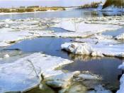 На Вятке тронулся лёд