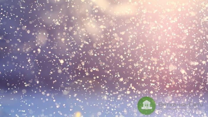 В выходные в Кирове ожидаются обильные снегопады