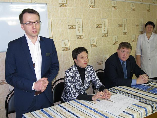 Кильмезскую ЦРБ возглавил Дмитрий Ощепков