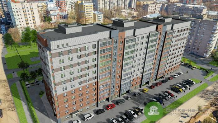 В Кирове вместо трех старых домов на ул. Менделеева построят 10-этажный дом