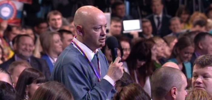Владимир Маматов снова задал вопрос Владимиру Путину