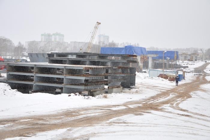 Из зоны строительства путепровода начнут переносить инженерные сети
