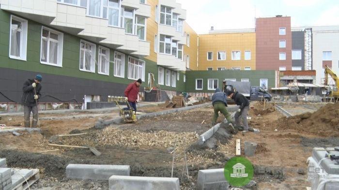 Новую школу в Чистых Прудах достроят в конце октября