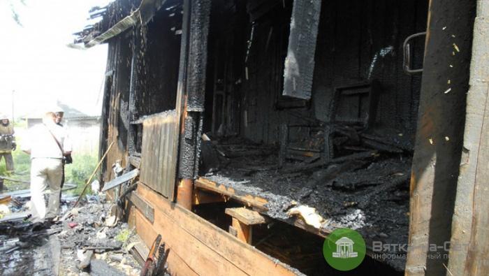 В пожаре в Яранске погиб ребенок