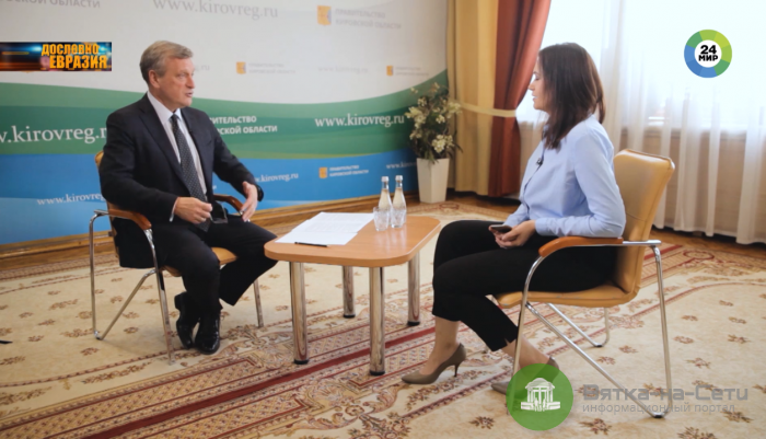 Игорь Васильев: железнодорожный переезд в Нововятске ликвидируют (Видео)