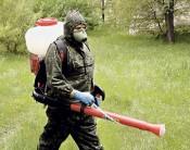 В зелёных районах Кирова началось противоклещевая обработка