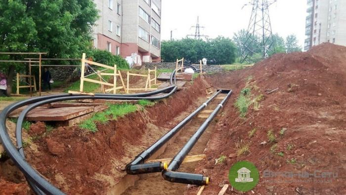 Летом в Кирове заменят более 20 километров теплосетей