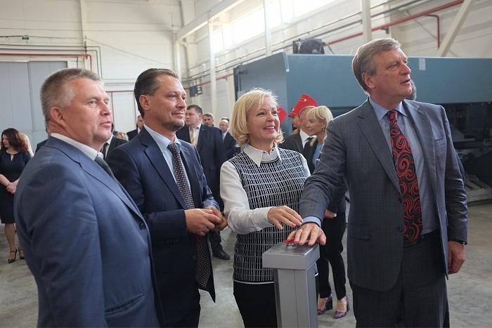 В Вятских Полянах запустили лифтостроительный завод