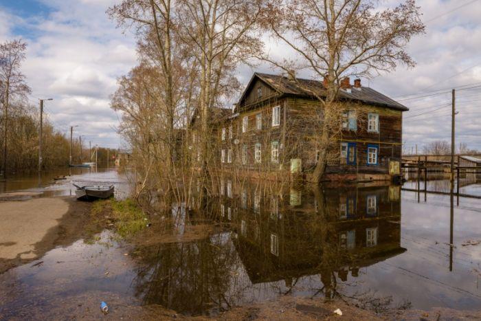 Уровень воды в Вятке составляет 473 сантиметра