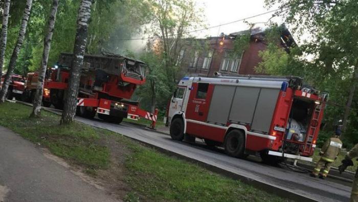В Кирове ночью горел дом на улице Свободы