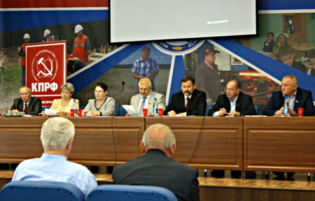 Сергей Мамаев, Анатолий Чурин и Леонид Сандалов выдвинуты от КПРФ