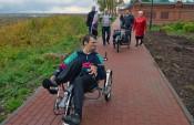 Набережную Грина оборудовали пандусами для инвалидов-колясочников