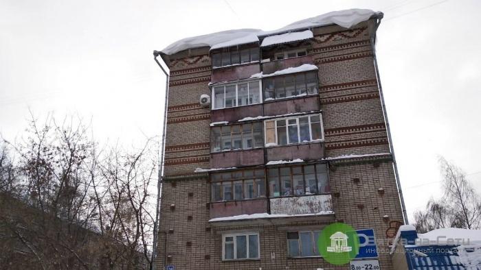 С начала февраля выявлено 760 нарушений содержания крыш и дворов