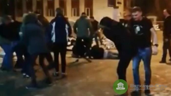 Ночью в понедельник в Кирове произошла массовая драка (видео)