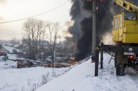 Местные жители оценили ущерб от схода вагонов в Нововятске в 20 млн рублей