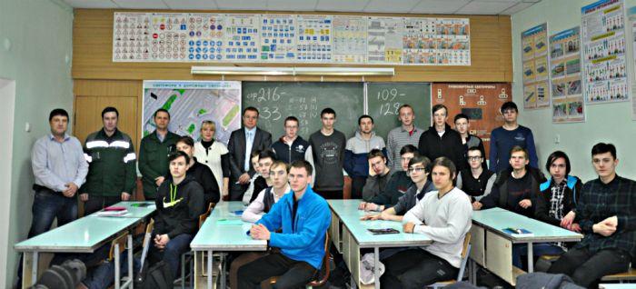 В филиале «КЧХК» проходят практику учащиеся ВАПКа
