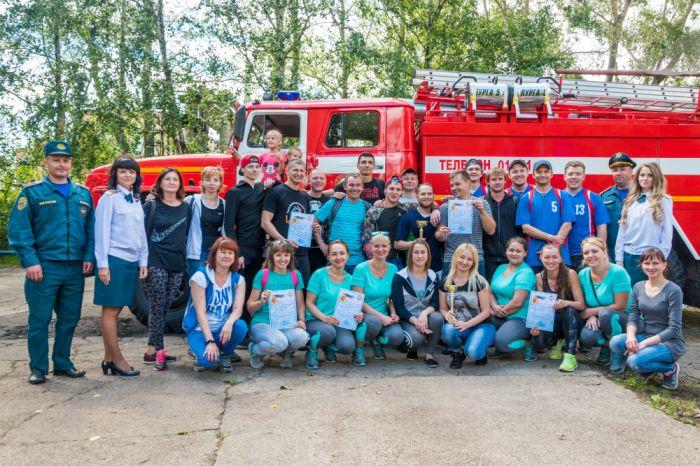 Добровольные пожарные дружины филиала «КЧХК» доказали свое мастерство